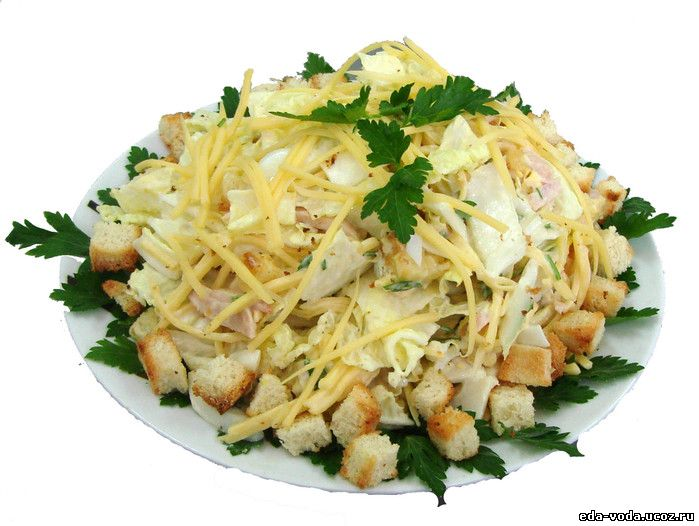 salat cezar s bekonom 150x150 Рецепт салата Цезарь.
